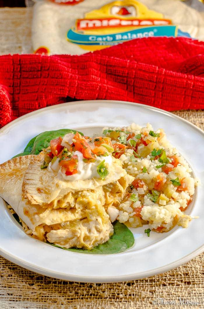 Green Chile Chicken Empanadas
