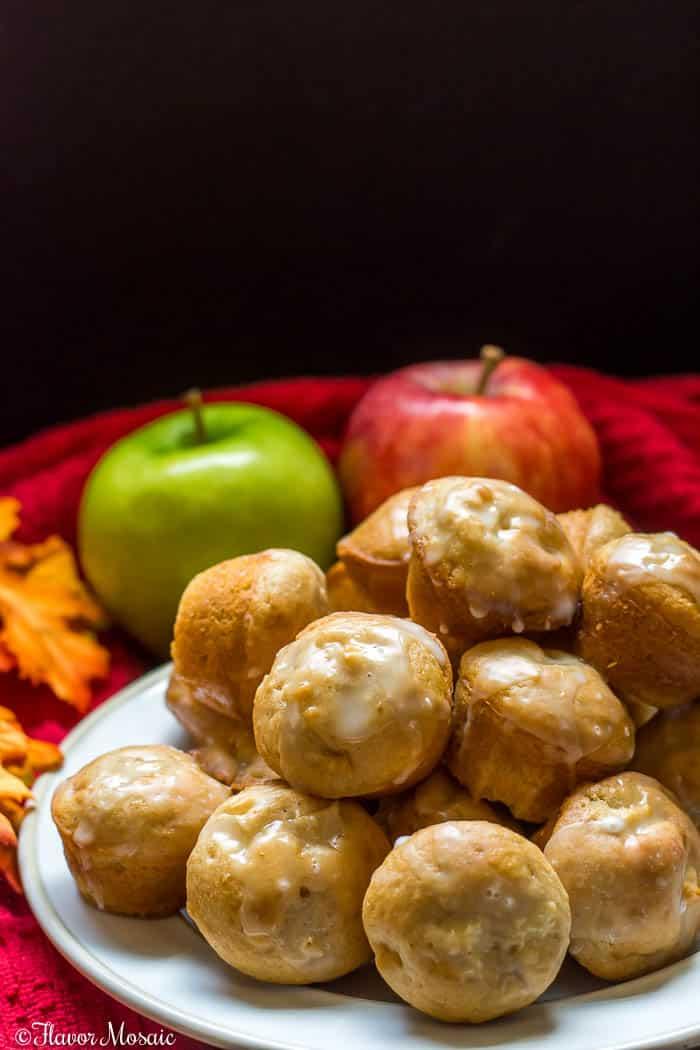Apple Fritter Apple Cinnamon Muffins