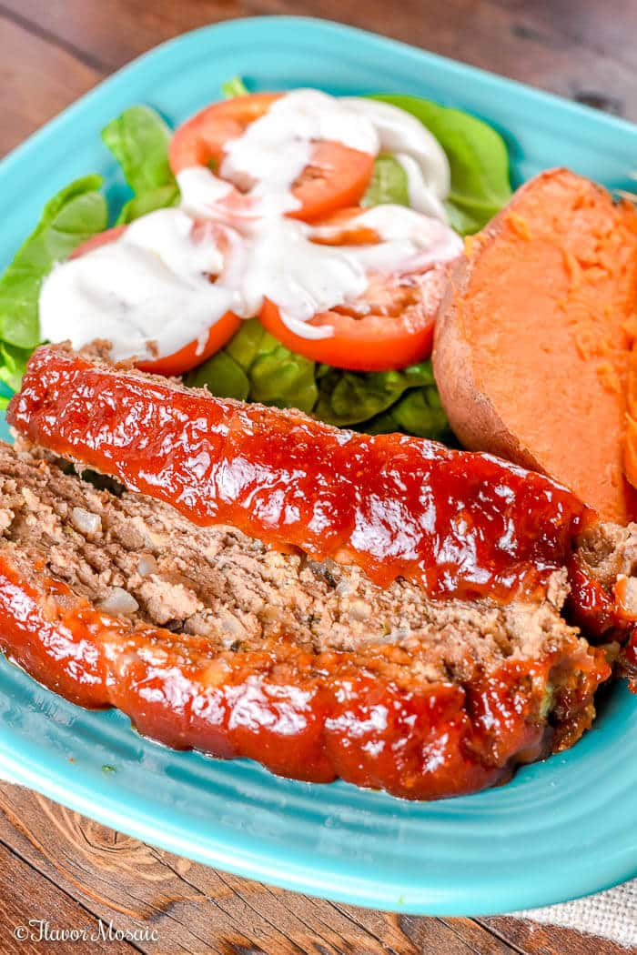 Brown Sugar Meatloaf - Beef