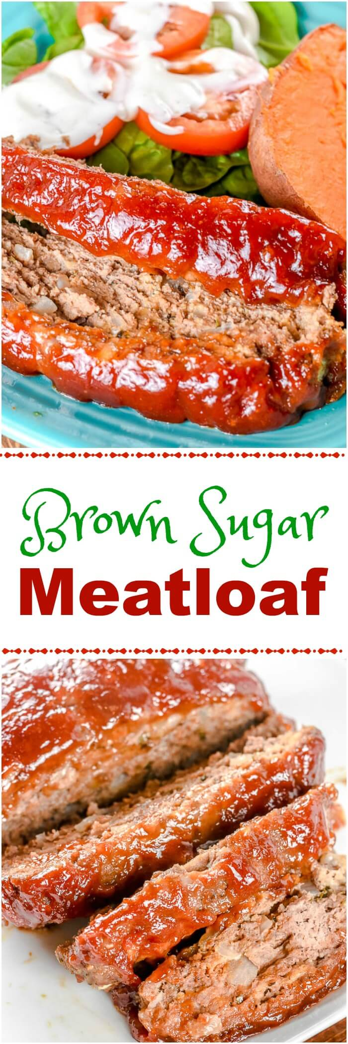 Brown Sugar Meatloaf with Beef