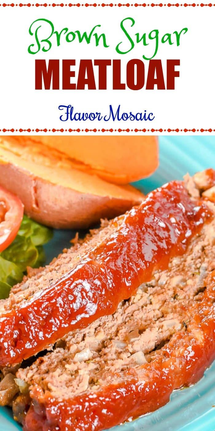 Brown Sugar Meatloaf Pin Image