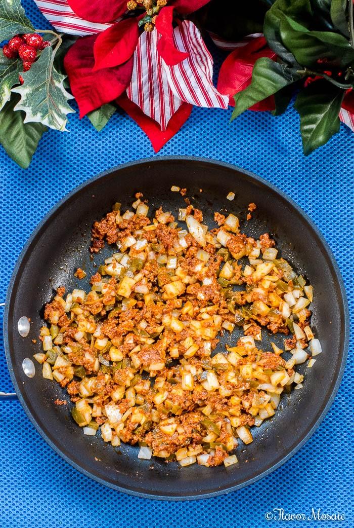 Cheesy Chorizo Jalapeno Mexican Dip