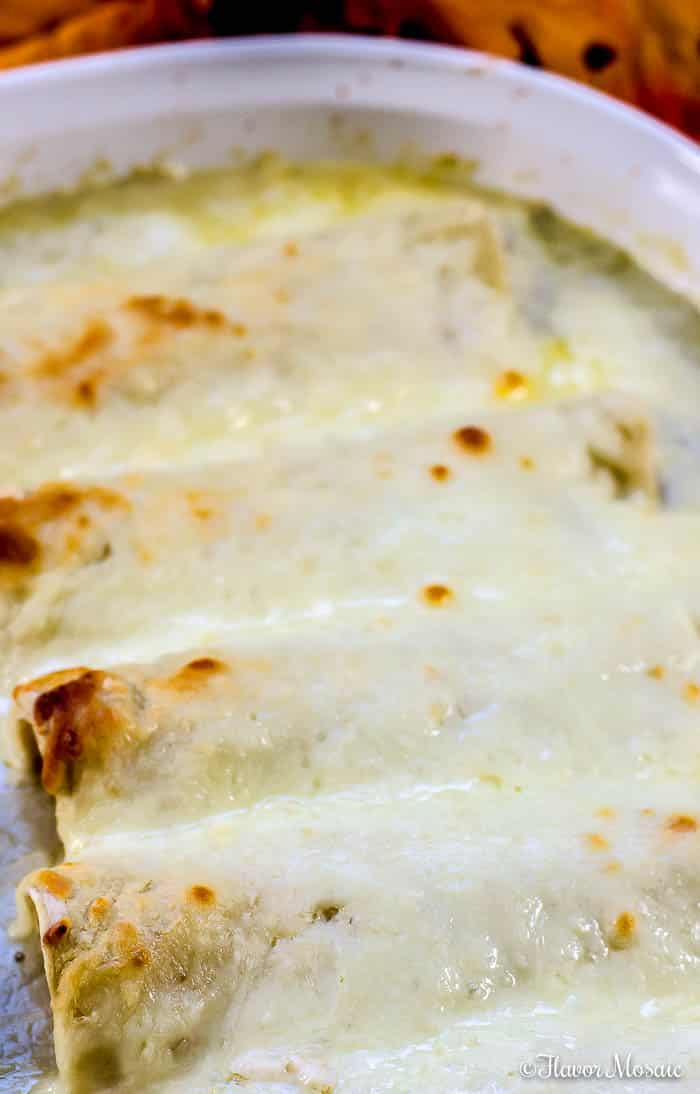 Easy Enchiladas Suizas