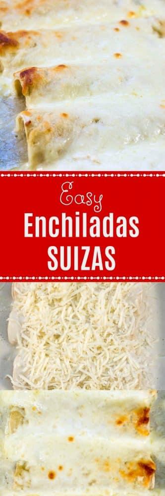 Easy Enchiladas Suizas