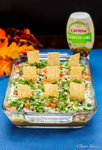 Graveyard 7-layer Mexican Dip