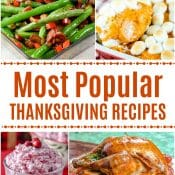 Most Popular Thanksgiving Recipes of all time from Flavor Mosaic and friends