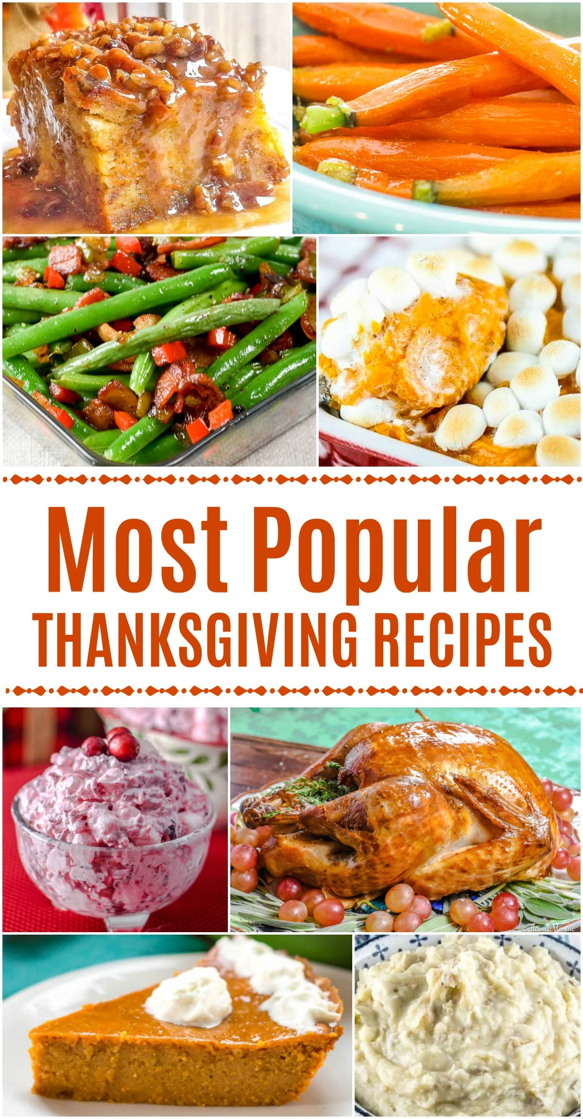 Check out the Most Popular Thanksgiving Recipes of all time from Flavor Mosaic and friends.