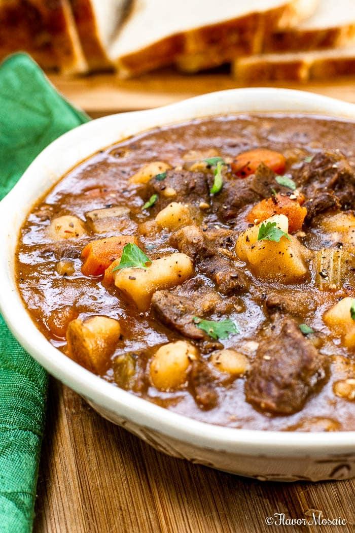 Instant Pot Beef Stew (With A Secret Ingredient) - Flavor Mosaic