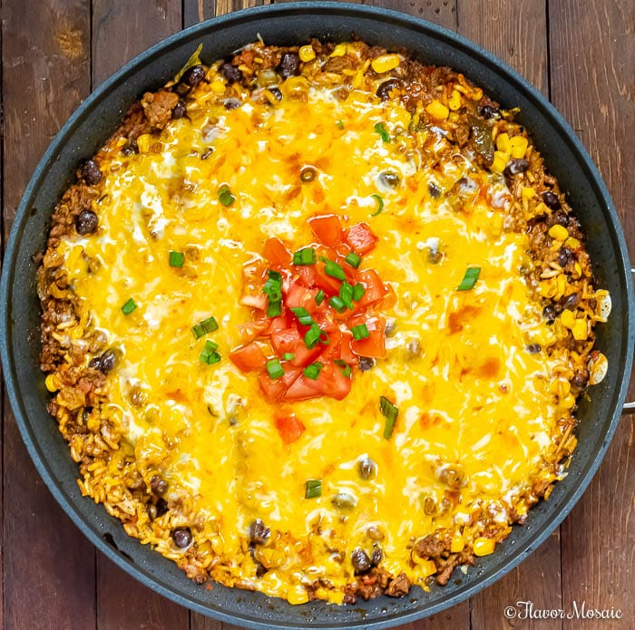 Cheesy Mexican Beef and Rice Casserole-13