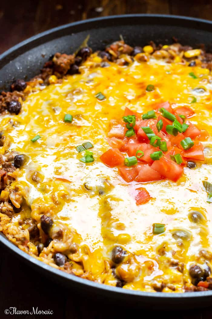 Mexican Beef And Rice Casserole Flavor Mosaic