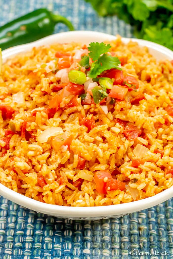 Easy Homemade Mexican Rice - Spanish Rice
