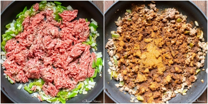 One Pot Mexican Beef And Rice Casserole ground beef ingredient