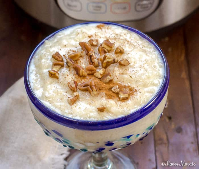 Instant Pot Mexican Rice Pudding - Arroz Con Leche
