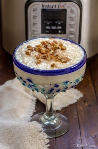 Instant Pot Mexican Rice Pudding - Arroz Con Leche