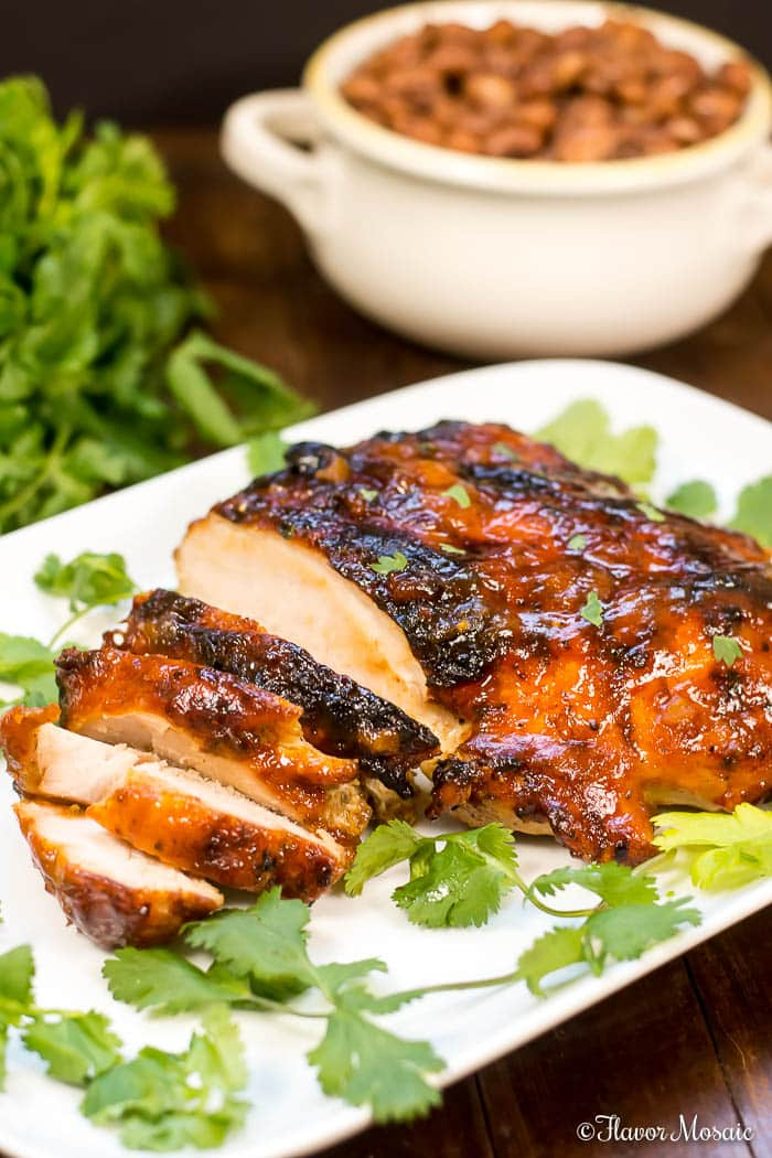 Mango Habanero Grilled Turkey Breast Flavor Mosaic