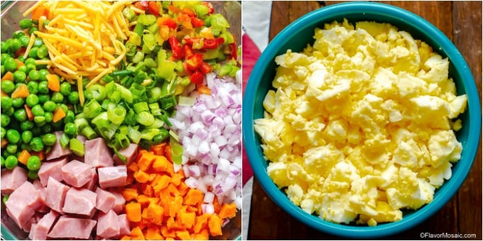 Best Classic Macaroni Salad Recipe How To Make Collage Add-In Ingredients