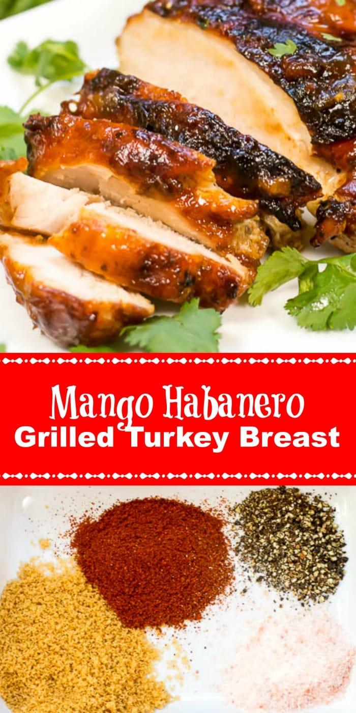 Mango Habanero Grilled Turkey Breast Long Pin