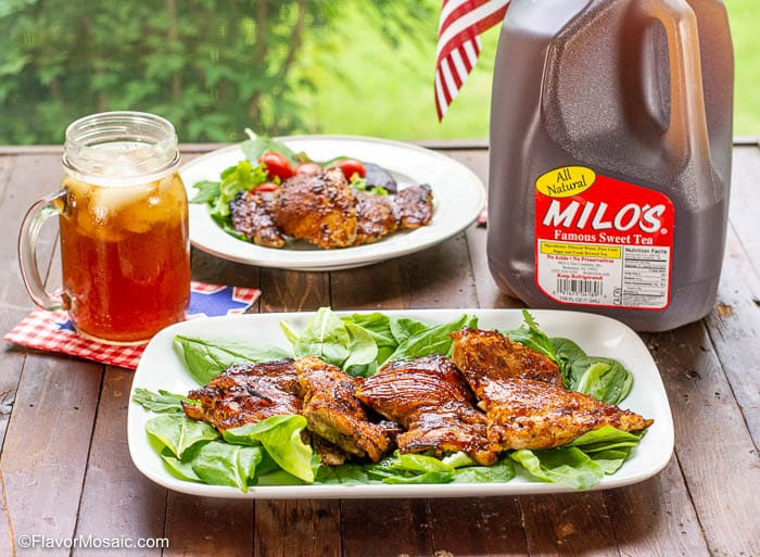 Sweet Tea BBQ Chicken Thighs-21