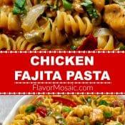 Chicken Fajita Pasta Pin 700x1200