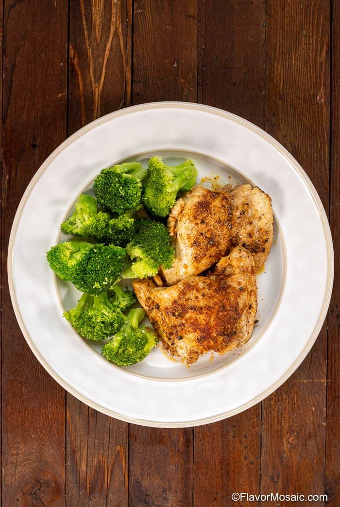 Easy Instant Pot Chicken Thighs Recipe Flavor Mosaic
