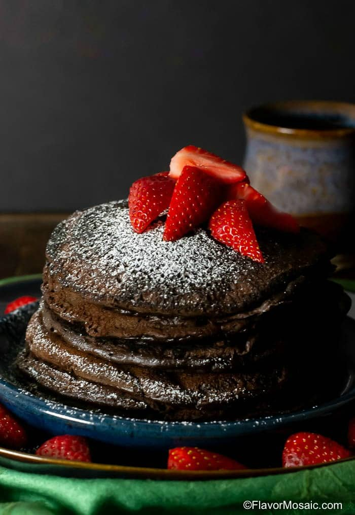 Chocolate Pancakes Flavor Mosaic