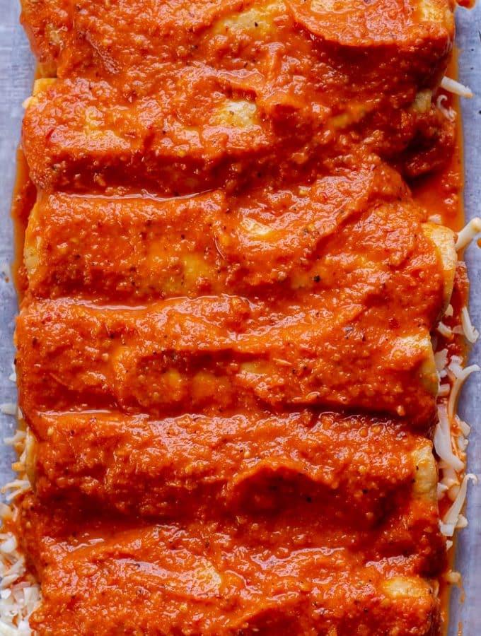 Red Chipotle Sauce Recipe for Enchiladas Rojas De Queso