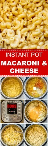 Instant Pot Macaroni and Cheese Long Pin Red Label Flavor Mosaic