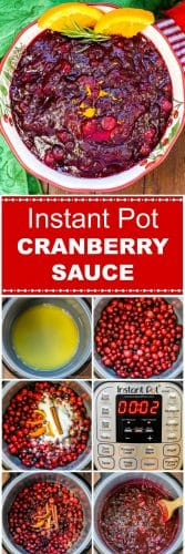 Long Pin for Instant Pot Cranberry Sauce by Flavor Mosaic