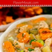Instant Pot Chicken Stew Pin 1 Photo Red Label Flavor Mosaic