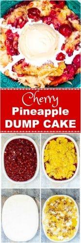 Cherry Pineapple Dump Cake How To Photos Pin Flavor Mosaic