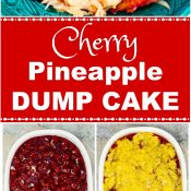 Cherry Pineapple Dump Cake How To Photos Pin Flavor Mosaic