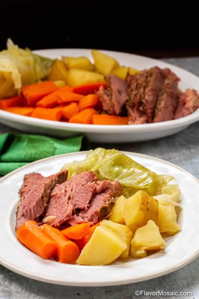 Instant Pot Corned Beef And Cabbage-28
