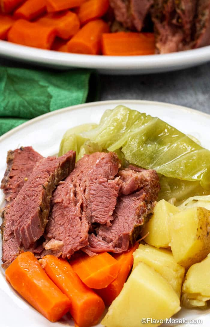 Instant Pot Corned Beef And Cabbage-29