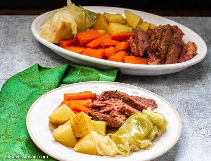 Instant Pot Corned Beef And Cabbage-35