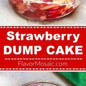 Strawberry Dump Cake Long Pin