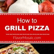 Grilled Supreme Pizza - How To Grill Long Pin FM