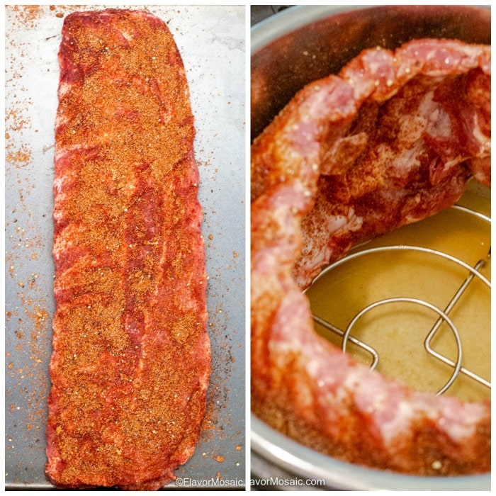How To Make Instant Pot Pork Ribs Photo Collage
