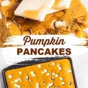 Pin 2 for Pumpkin Sheet Pan Pancakes