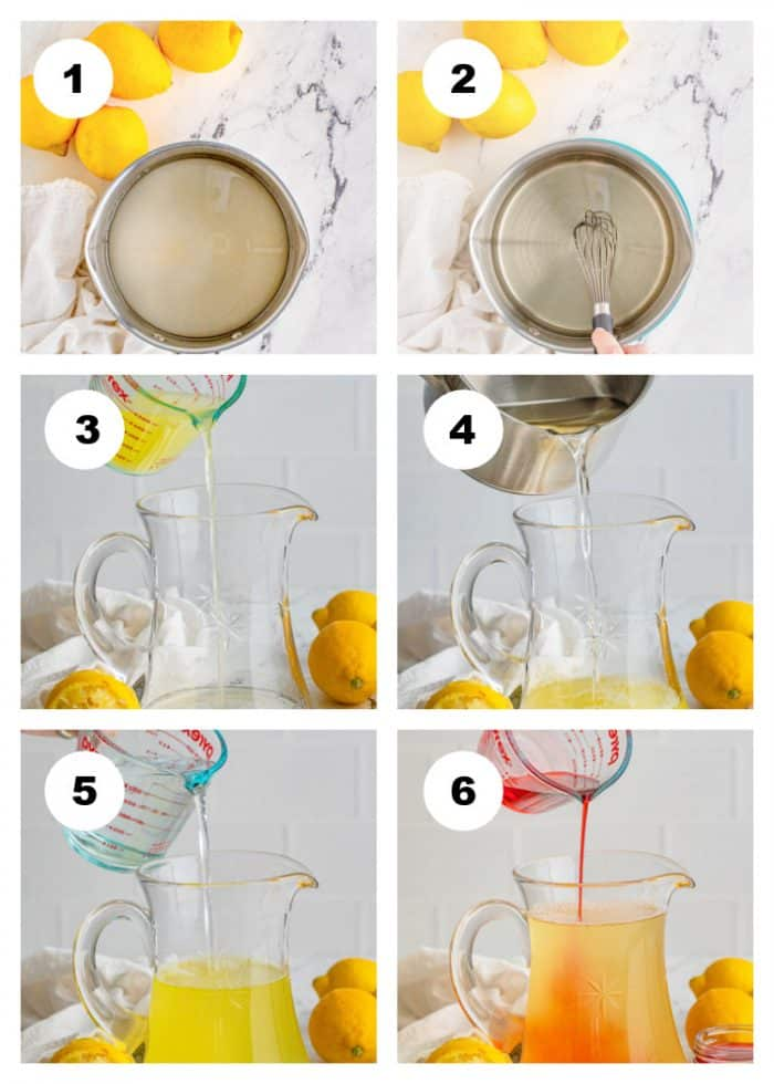 How-To-Make-Pink-Lemonade-Step-by-Step-Process-Photo-Collage-Steps-1-6