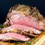 Cajun Herb Prime Rib #SundaySupper #RoastPerfect