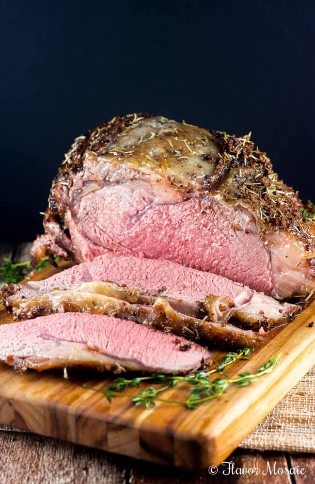 Cajun Herb Ribeye Prime Rib Roast is an easy yet impressive main dish for Christmas or any holiday or special occasion.