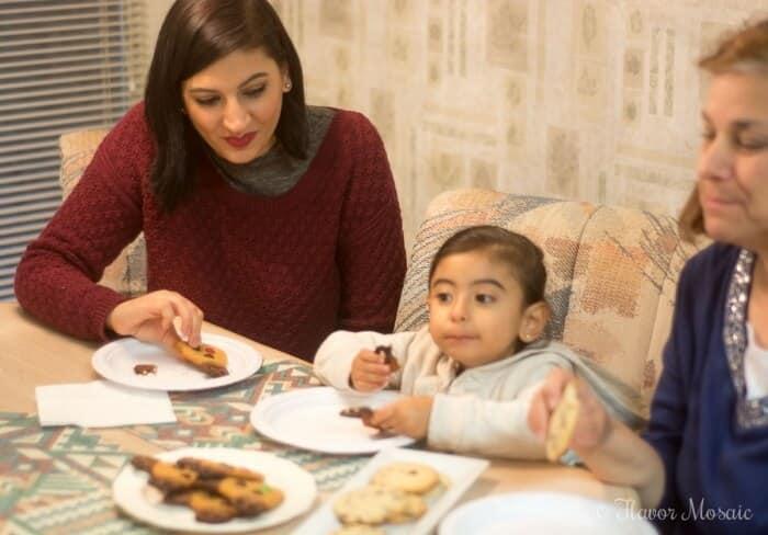 Kathy-Elvita-and-Maria-enjoying-cookies