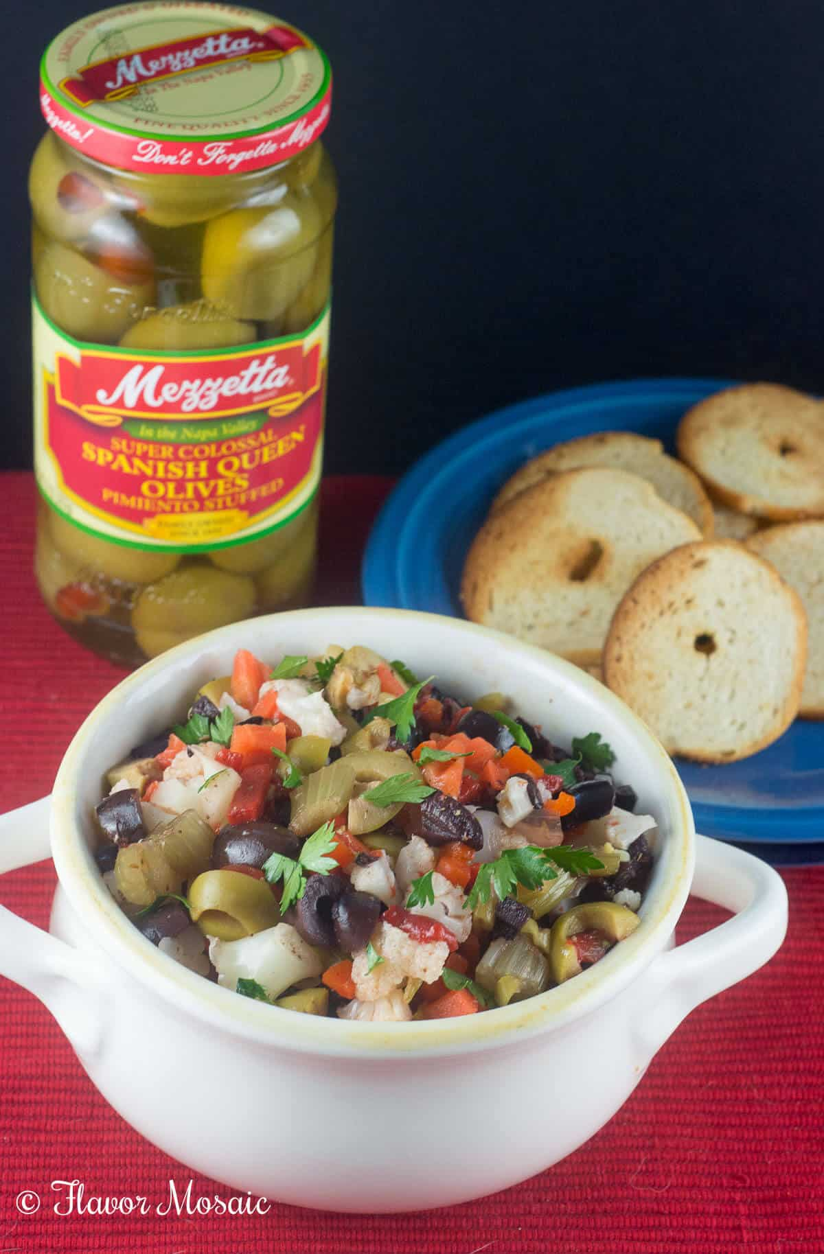 Used Car Guru >> Muffuletta Olive Salad - Flavor Mosaic