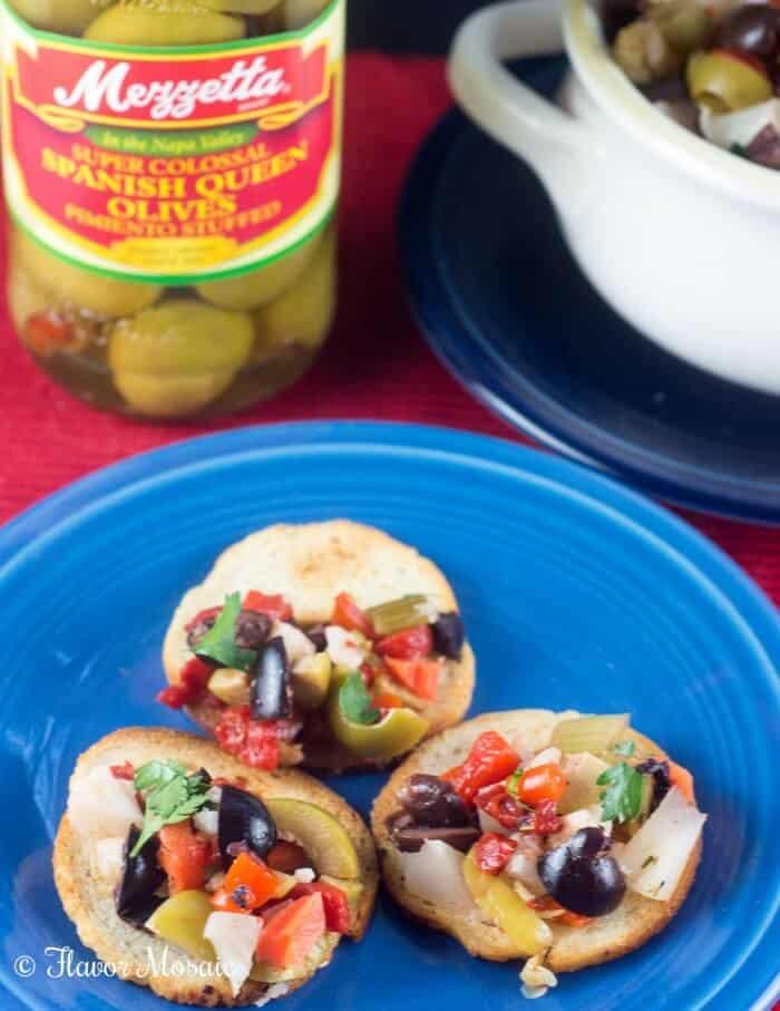 Top 15 Cajun Recipes for Mardi Gras - Muffuletta Olive Salad