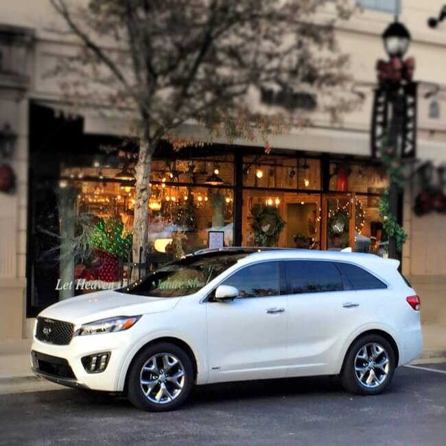2016 Kia Sorento AWD Christmas shopping