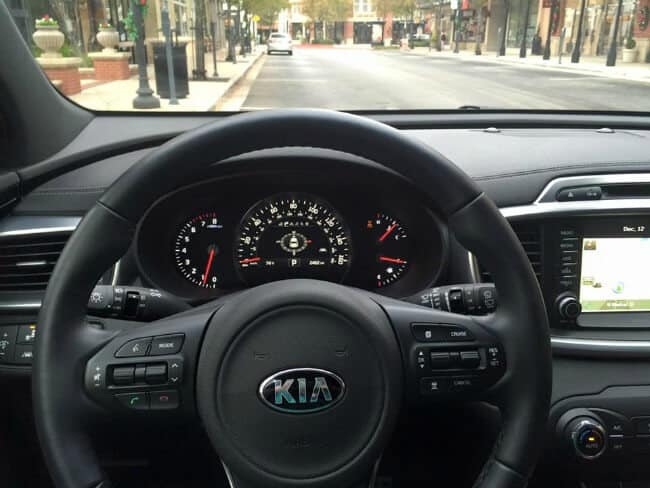 2016 Kia Sorento AWD Steering Wheel Dashboard