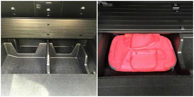2016 Kia Sorento AWD Trunk and storage