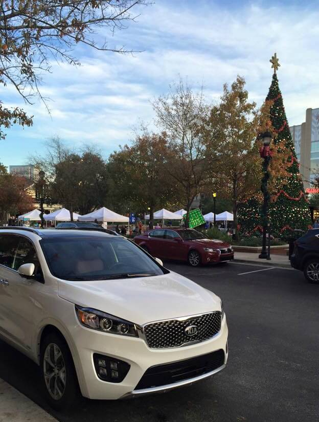2016 Kia Sorento AWD under the Christmas Tree