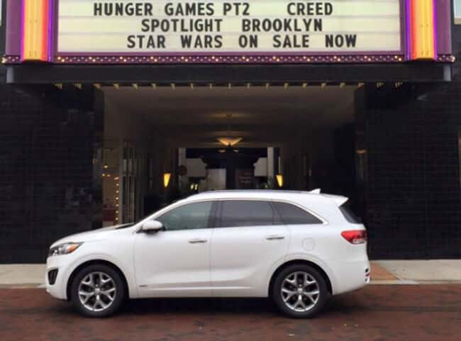 2016 Kia Sorento AWD at the Movies