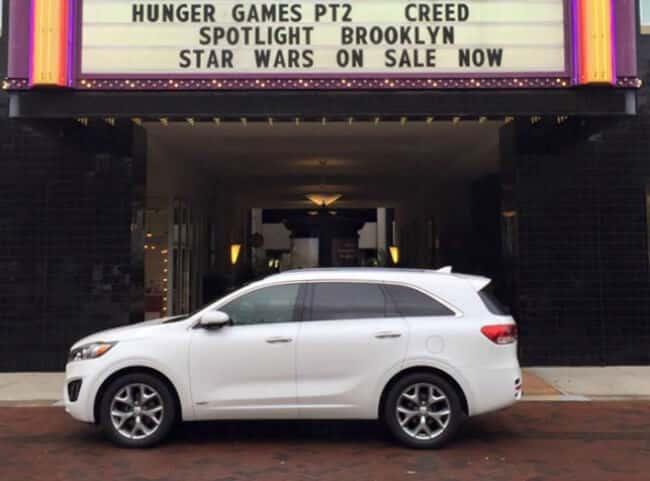 2016 Kia Sorento AWD at the Movies